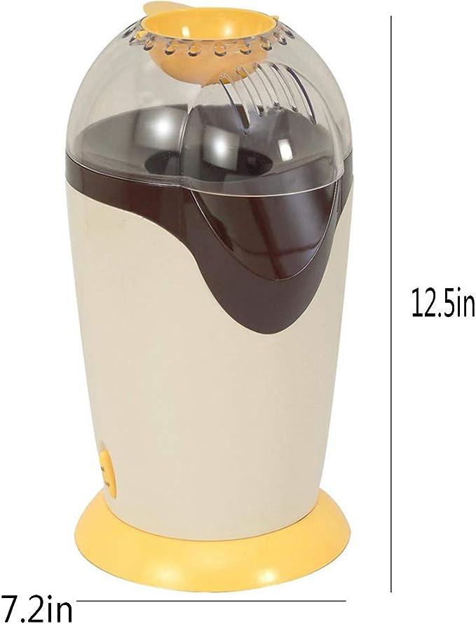 FXXJ Máquina de Palomitas eléctrica, máquina de Palomitas doméstica DIY, Robot de Cocina para Padres con niños, Poder Teatro Caliente, Fresco, Saludable y sin Grasa: Amazon.es