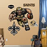 Fathead 14-14121 Wall Decal, New Orleans Saints Die Cut RB Liquid Blue