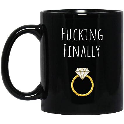 Amazoncom Funny Engagement Mug Engagement Gift