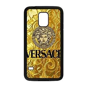 Samsung Galaxy S5 Mini Black Cell Phone Case Versace Brand Logo Custom Case Cover A11U525146
