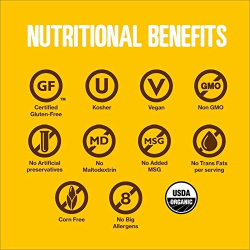 HIPPEAS Organic Chickpea Puffs + Vegan White Cheddar | 4 ounce, 12 count | Vegan, Gluten-Free, Crunchy, Protein Snacks