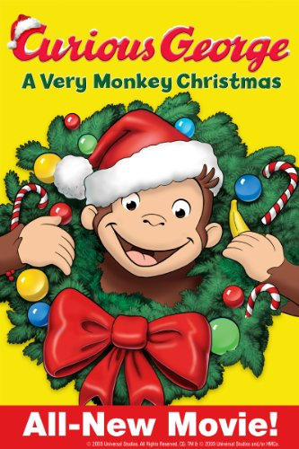 Curious George: A Very Monkey Christmas (You Christmas Tube White)