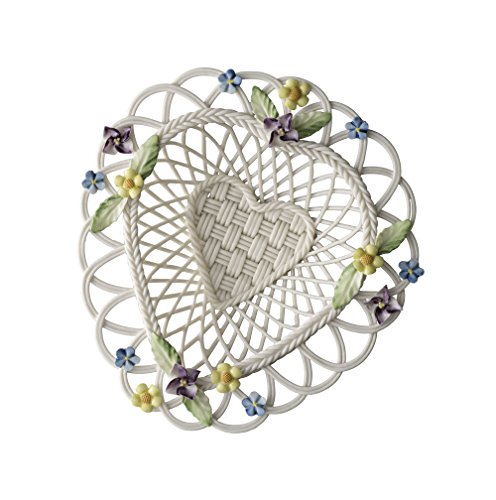 Belleek Basket - Belleek Pottery Flowers of Spring Basket