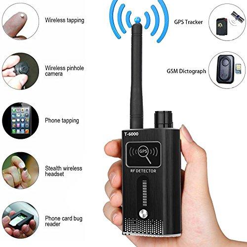 Anti-Spy Bug Detector RF Signal Detector [Advanced Version] Wireless Camera GPS Device Finder Scanner Ultra-high Sensitivity
