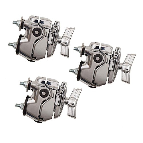 Ludwig LAPAM3 Atlas Mount Bracket Drum Set Mounting Hardware, 3-Pack from Ludwig