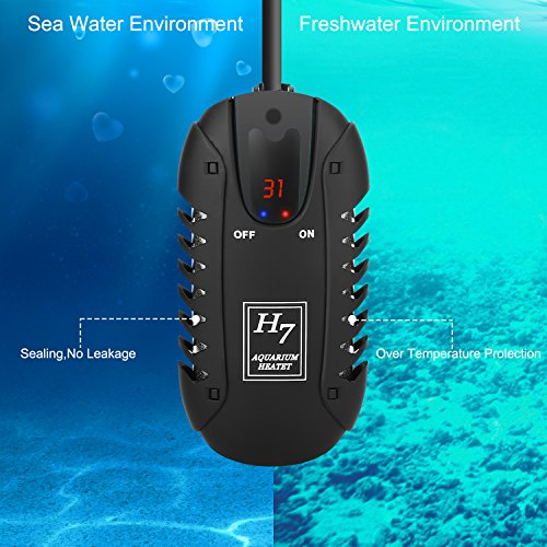 Aquarium Controller 10 Steps With Pictures: NO.17 Small Submersible Aquarium Heater 150W, Mini Fish