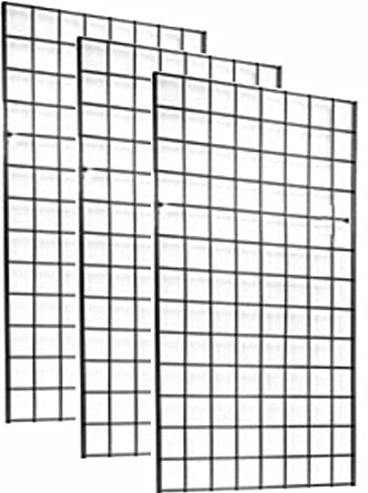 Amazon.com: 2\' x 4\' FOOT COMMERCIAL GRADE WIRE GRID WALL PANEL ...