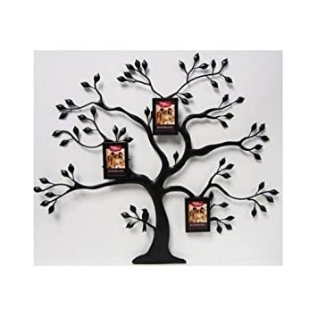 Amazon.com : Better Homes and Gardens Metal Family Tree with 3 Mini ...