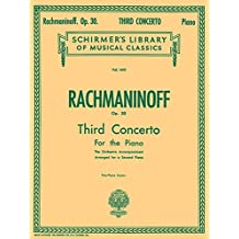 Concerto No. 3 in D Minor, Op. 30: Schirmer Library of Classics Volume 1610 Piano Duet