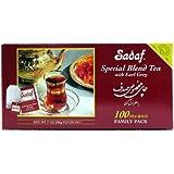 Sadaf Special Blend Tea Earl Grey, 100-Count