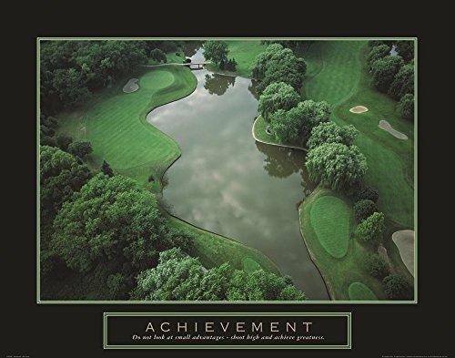 Achievement - Golf Course Art Print, 38 x 30 inches