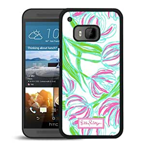 Lilly Pulitzer 03 Black HTC ONE M9 Cell Phone Case Durable and Custom Designed Case