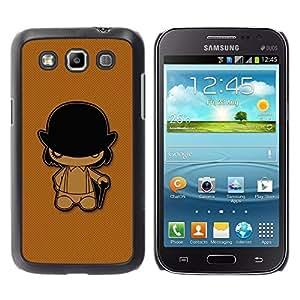 Be Good Phone Accessory // Dura Cáscara cubierta Protectora Caso Carcasa Funda de Protección para Samsung Galaxy Win I8550 I8552 Grand Quattro // Clockwork Orange