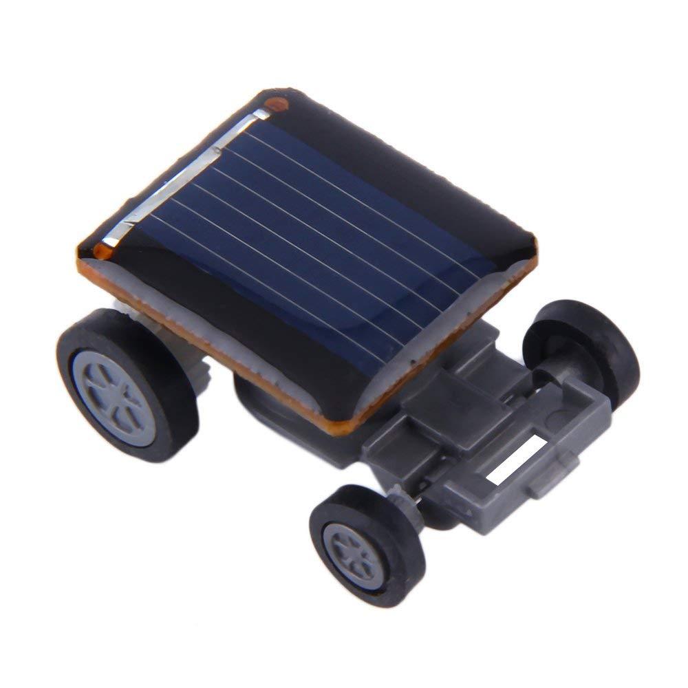 Yevison Solar Car World's Smallest Solar Powered Car - Educational Solar Powered Toy Durable and Useful