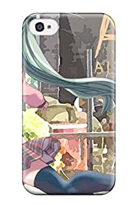 Fashionable Style Case Cover Skin For Iphone 4/4s- Alice Carroll Anime