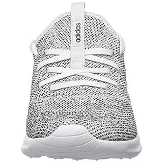 adidas Women's Cloudfoam Pure Running Shoe, white/white/black, 11 Medium US