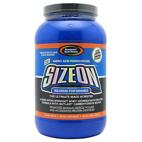 Gaspari Nutrition Maximum Performance Sizeon Orange 24/ - Gaspari Nutrition Vitamins Supplements
