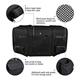 X-ZONE PET Black Playpen Portable Foldable