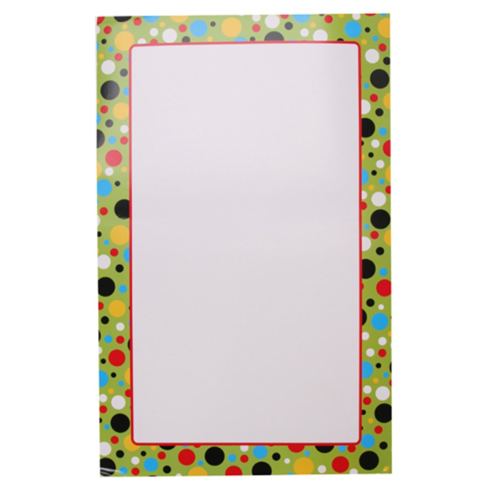RetailSource DAR016ED72 Learning Chart, Bright Dots Border, 13.75'' x 22'' (Pack of 72)
