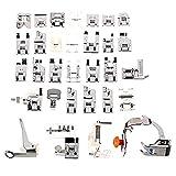 SODIAL(R)32Pcs Domestic Sewing Machine Presser Foot Feet Kit Set