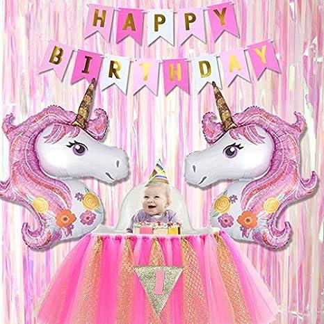 Tumao Palloncini Compleanno Bambina Elio Palloncini Unicorno Rosa