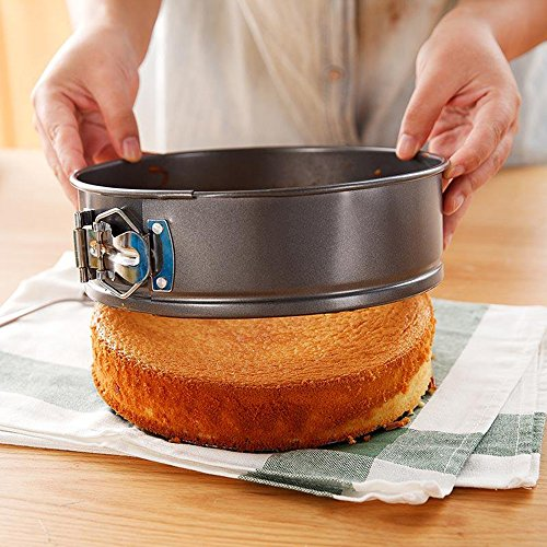 Springform Cake Pan 7 Inch for Instant Pot 6Qt 8Qt Non-stick Round Cheesecake pan Black by Lufeiya (Image #7)