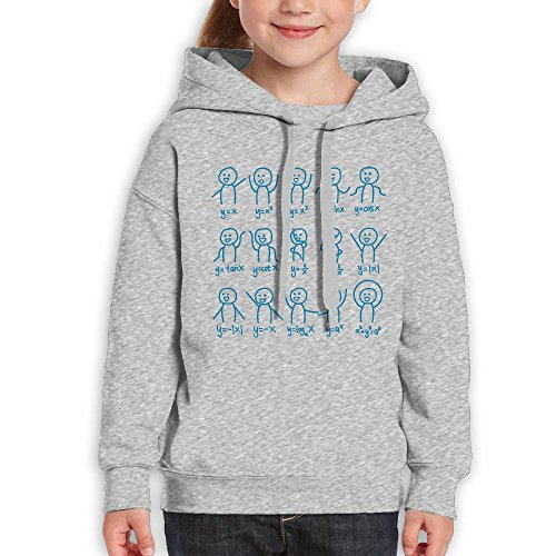 Algebra Dance Funny Graph Figures Math Equation Funny Print Teen Boys And Girls Pullover Hoodie Sweatshirt Outfit Clothing (Graph Sweater)