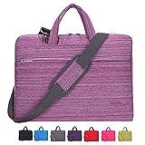 Laptop Case, Laptop Shoulder Bag, CROMI 15-15.6 Inch Simplicity Slim Briefcase Commuter Bag