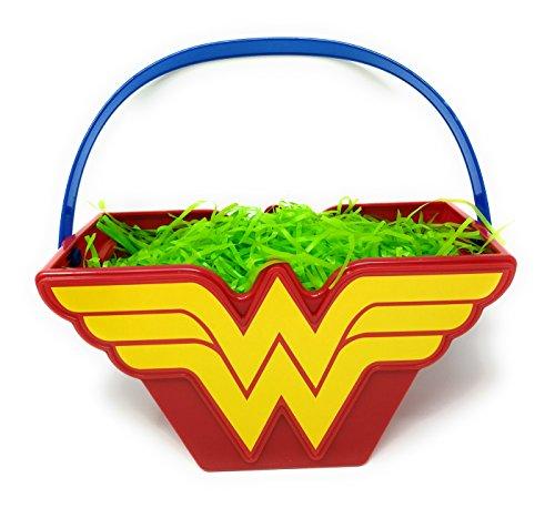Wonder Woman Figural Bucket Easter ()