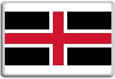 England Durham City Flag Fridge Magnet Amazon Co Uk Kitchen Home