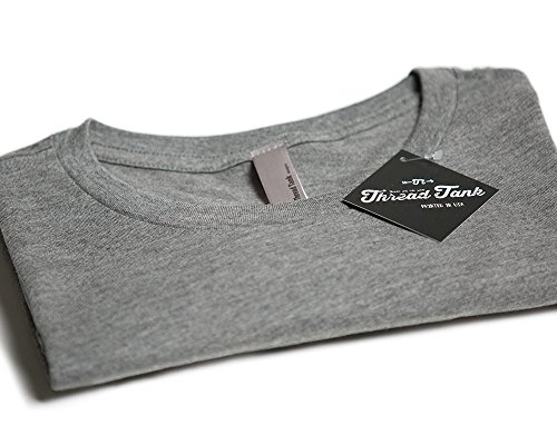 Thread Tank Let's Go Glamping Womens Relaxed T-Shirt Tee Heather Grey - 2XL