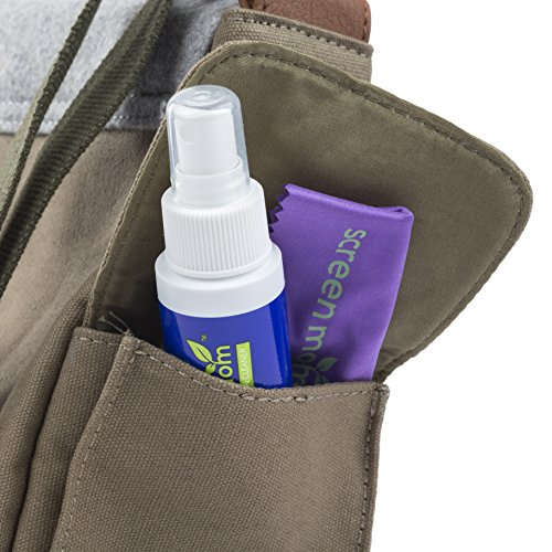 Screen Mom Screen Cleaner Kit - Best for Laptop, Phone Cleaner, iPad, Eyeglass, LED, LCD, TV -Includes 2oz Spray and 2 Purple Cleaning Cloths -Great for Travel,Smartphone,Touchscreen,Kindle,3D Glasses by Screen Mom (Image #5)