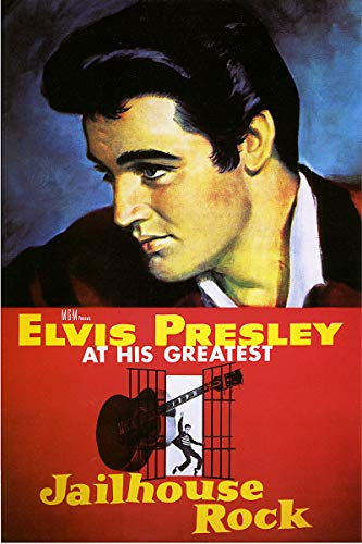 - American Gift Services - Jailhouse Rock Vintage Elvis Presley Movie Poster - 11x17