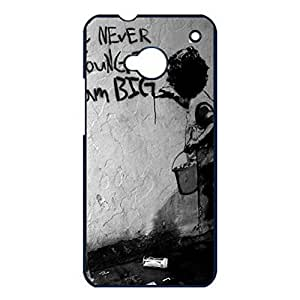 Wonderful Banksy Graffiti Phone Case For Htc One M7 With Novel Pattern