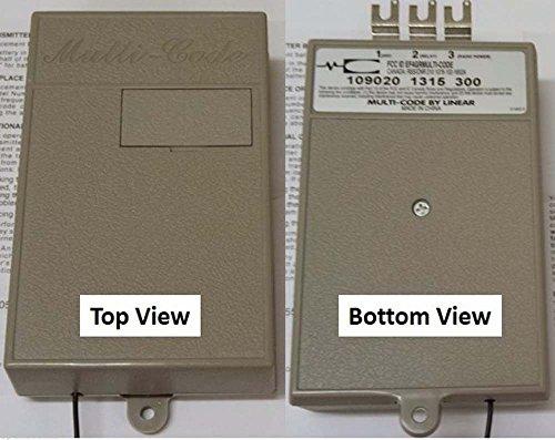 New Multicode 1090 Gate or Garage Door Opener Receiver Linear 3089 308911