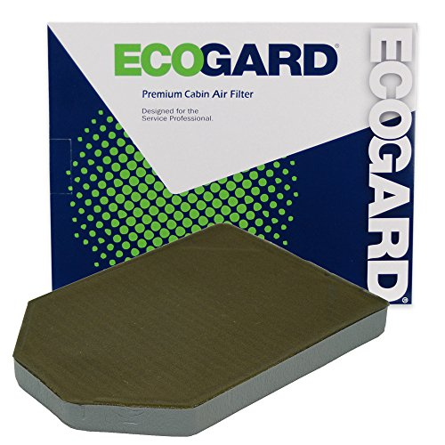 ECOGARD XC35533C Cabin Air Filter with Activated Carbon Odor Eliminator - Premium Replacement Fits Audi A8 Quattro, S8, A8
