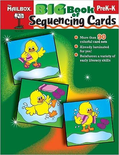 Big Book Of Sequencing Cards Preschool Kindergarten The Mailbox