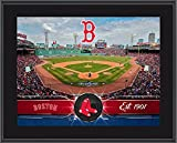 "Boston Red Sox 10"" x 13"" Sublimated Team Stadium Plaque - Fanatics Authentic Certified - MLB Team Plaques and Collages"