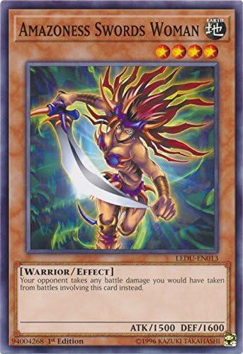 Amazoness Swords Woman LEDU-EN013 - Common 1st Edition