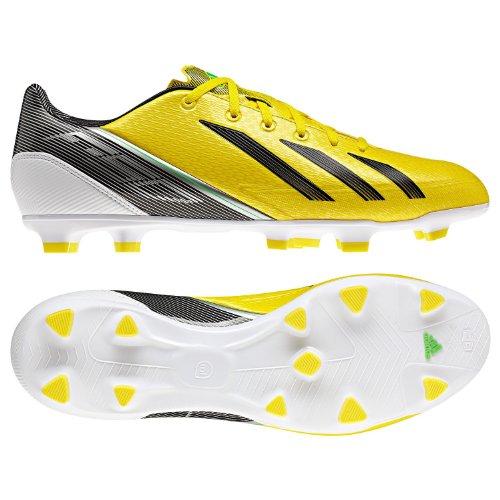 Adidas Mens F30 TRX Fg Yellow/black/green/white Soccer Cl...