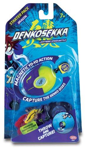 Denko Sekka Dragon Starter Pack - (1) Dragon Catcher and (4) Coins