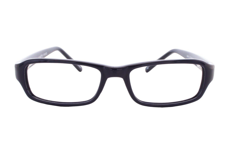 957616069f77 Amazon.com  Lunettos Samuel Childrens Eyeglass Frames - Black  Clothing