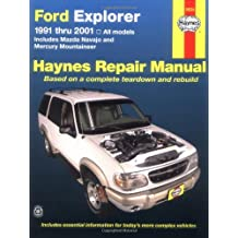 Ford Explorer: 1991 Thru 2001