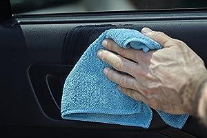 S&T Bulk Microfiber Kitchen, House, Car Cleaning Cloths