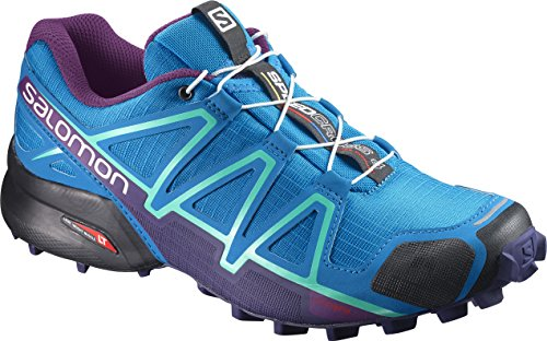 (Salomon Women's Speedcross 4 W Mountaineering Boot, Hawaiian surf, 7 M US)