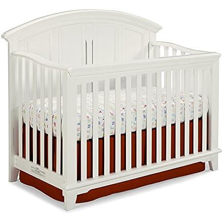 Westwood Design Jonesport 4 In 1 Convertible Crib White