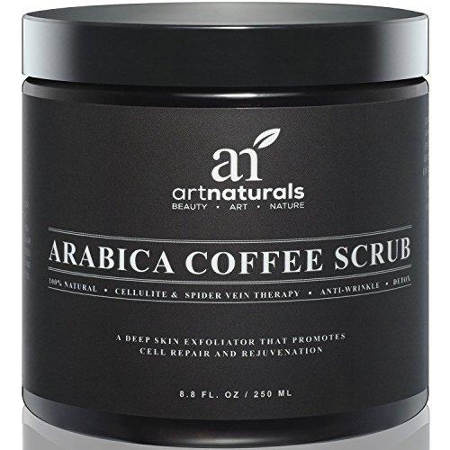 Crema Cafe (Crema Anti-Celulitis Y Anti-Estrias a Base De Cafe Organico Natural - Bote De 8.8 Onzas)