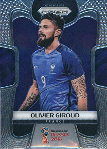 2018 Panini Prizm FIFA World Cup Soccer Trading Card #83 Olivier Giroud France