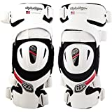 Troy Lee Designs Catalyst X L&R Adult Knee Guard Off-Road Body Armor - White / 2X-Large