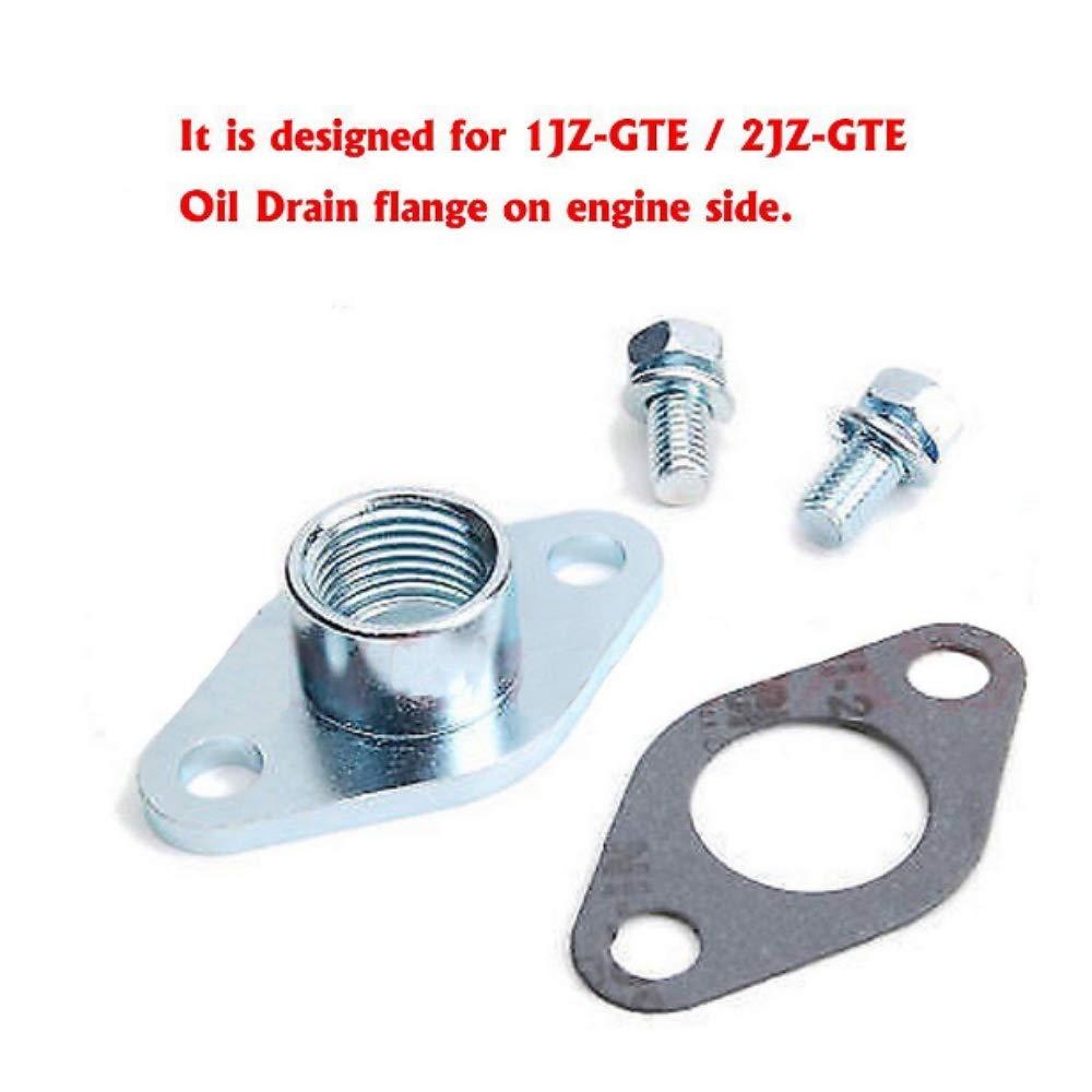 Kinugawa Turbo aceite agua línea Toyota 1jz-gte 2jz-gte W/Garrett t04b t04e Turbo: Amazon.es: Coche y moto
